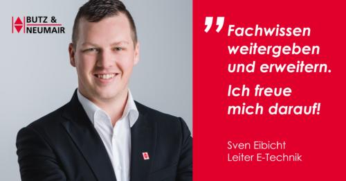 Sven Eibicht, Leiter E-Technik bei Butz und Neumair Aufzugbau